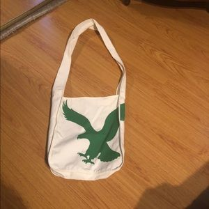 American Eagle shoulder tote bag; NWOT